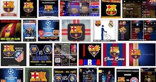 BBM MOD Tema Barcelona FC v3.2.0.6 APK Versi Terbaru 2017 Transparan