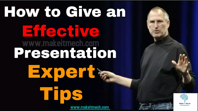 effective presentation tips