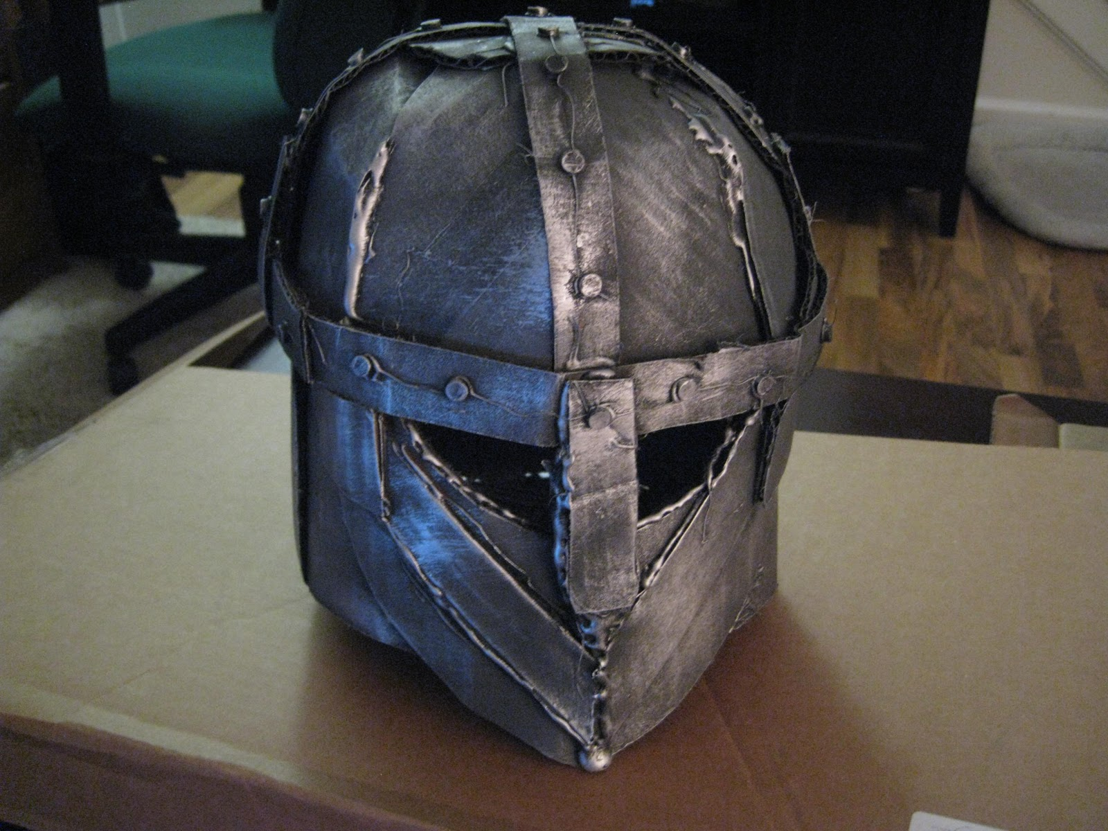 Cardboard Knight Helmet Tutorial