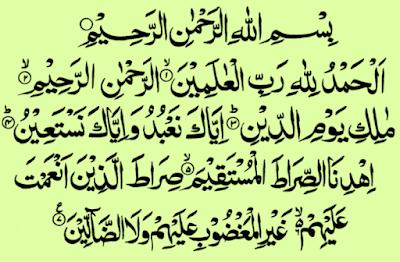 Ngaji Kandungan Surah Al-Fatihah dan Artinya