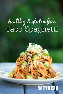 Healthy Taco Spaghetti Recipe