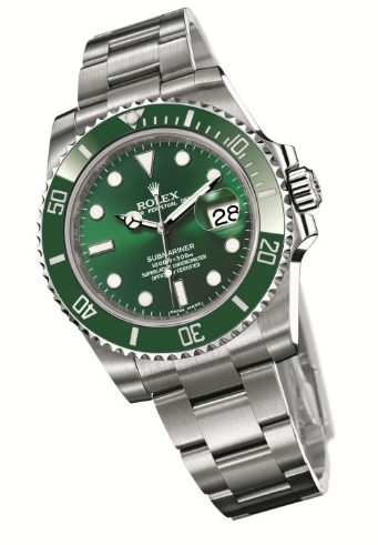 9eb905157aa Style Legends  Rolex Submariner Anniversario Ghiera Verde