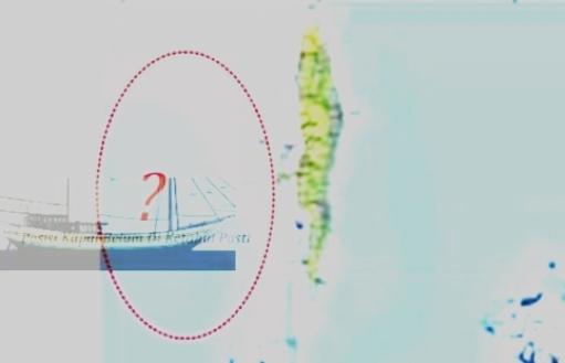 KLM. Musdalifah Ditemukan, Pagi Ini Ditarik Ke Pelabuhan, Benteng Selayar