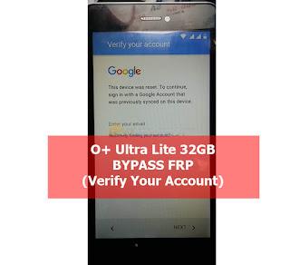 Oplus O+ Ultra Lite 32GB FRP Bypass