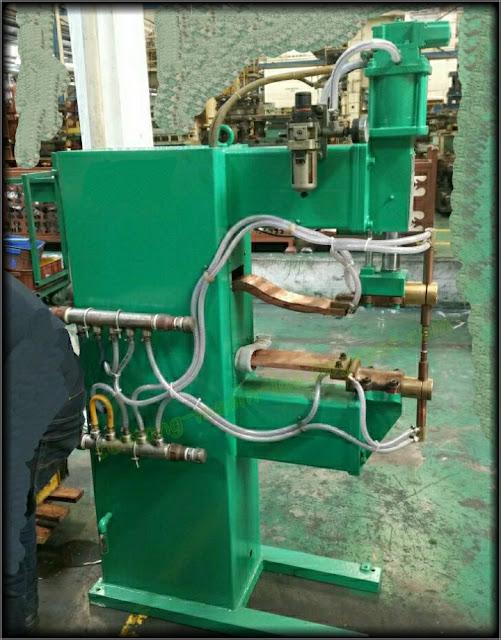 Blog Tentang Mesin Las Stationary Spot Welding Ssw Jenis Mesin Las Dengan System Las Titik Spot Welding