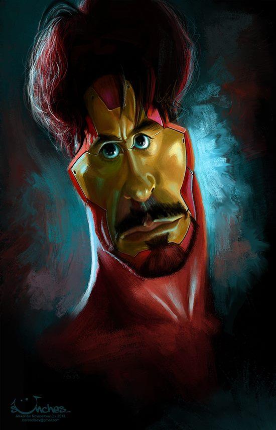 Robert Downey Jr. por Alexander Novoseltsev