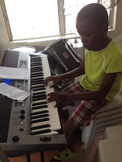 young nigerian musician