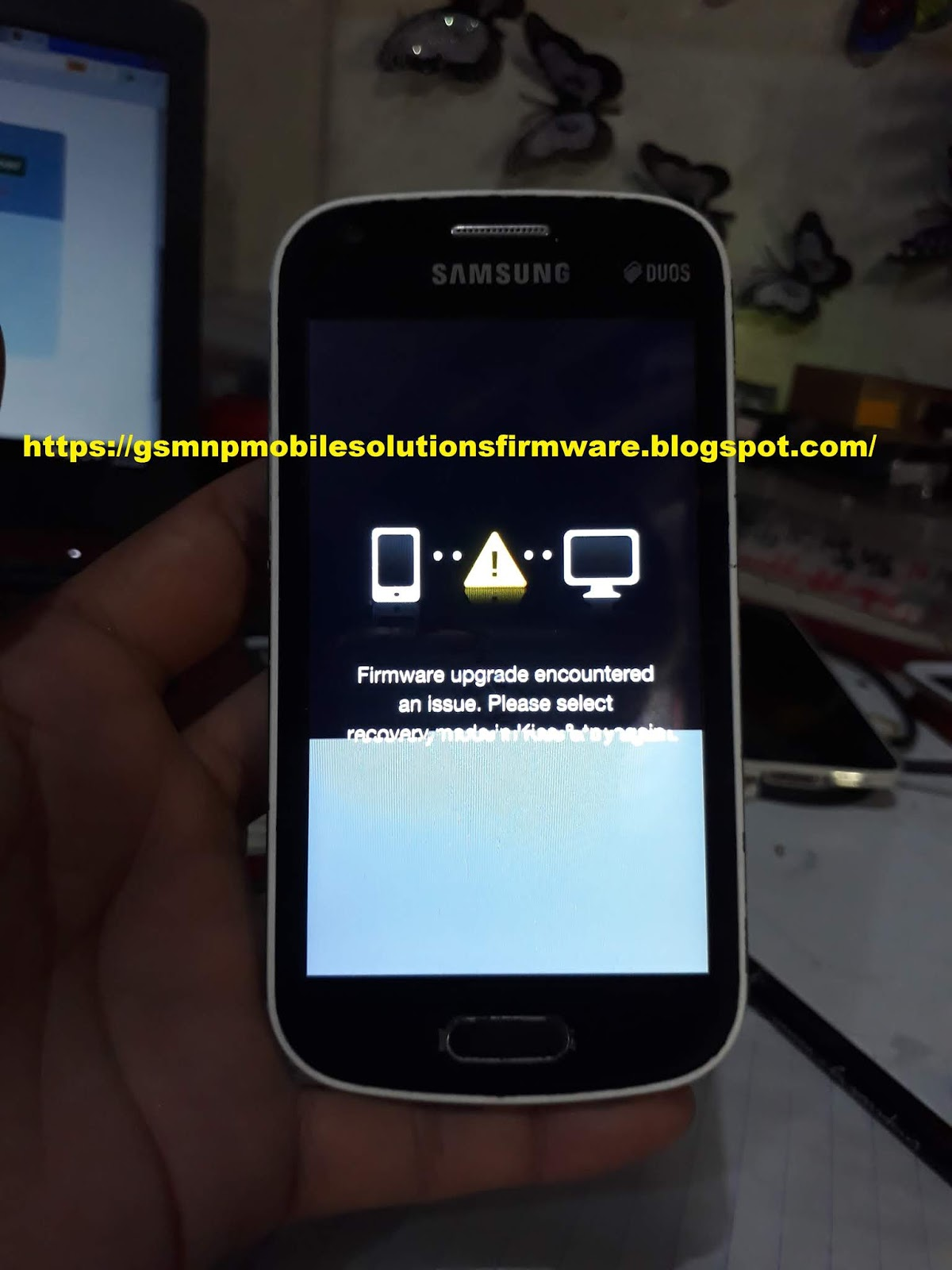 Samsung Galaxy S Duos 2 GT-S7582 Wite Display FIX 100% Tested Repair