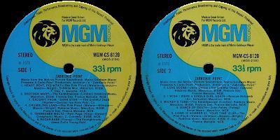 Pink Floyd Ilustrado 1970 Zabriskie Point Music From The