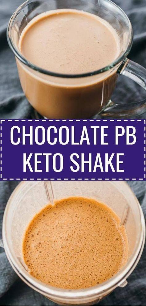 Chocolate Peanut Butter Keto Shake