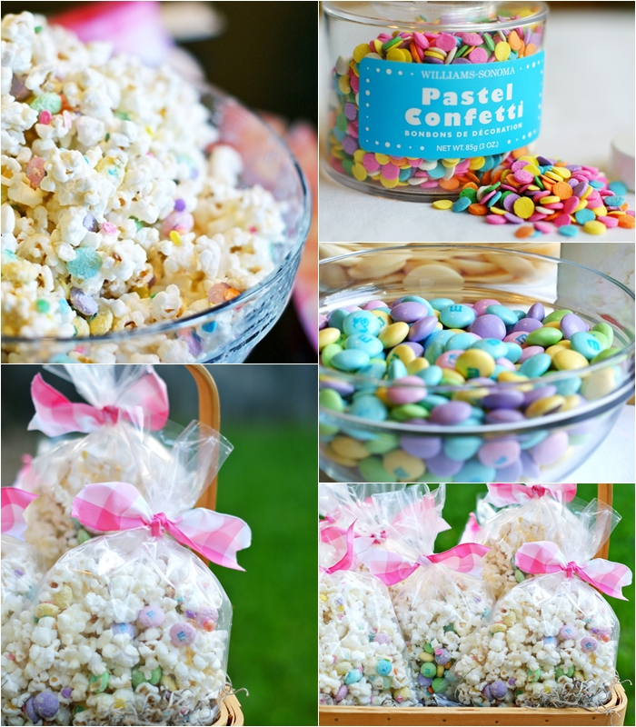 bunny bait .... candied popcorn for Easter!