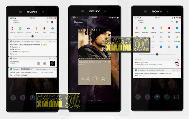 Download Link Xperia Theme For MIUI Xiaomi Update Mtz Terbaru