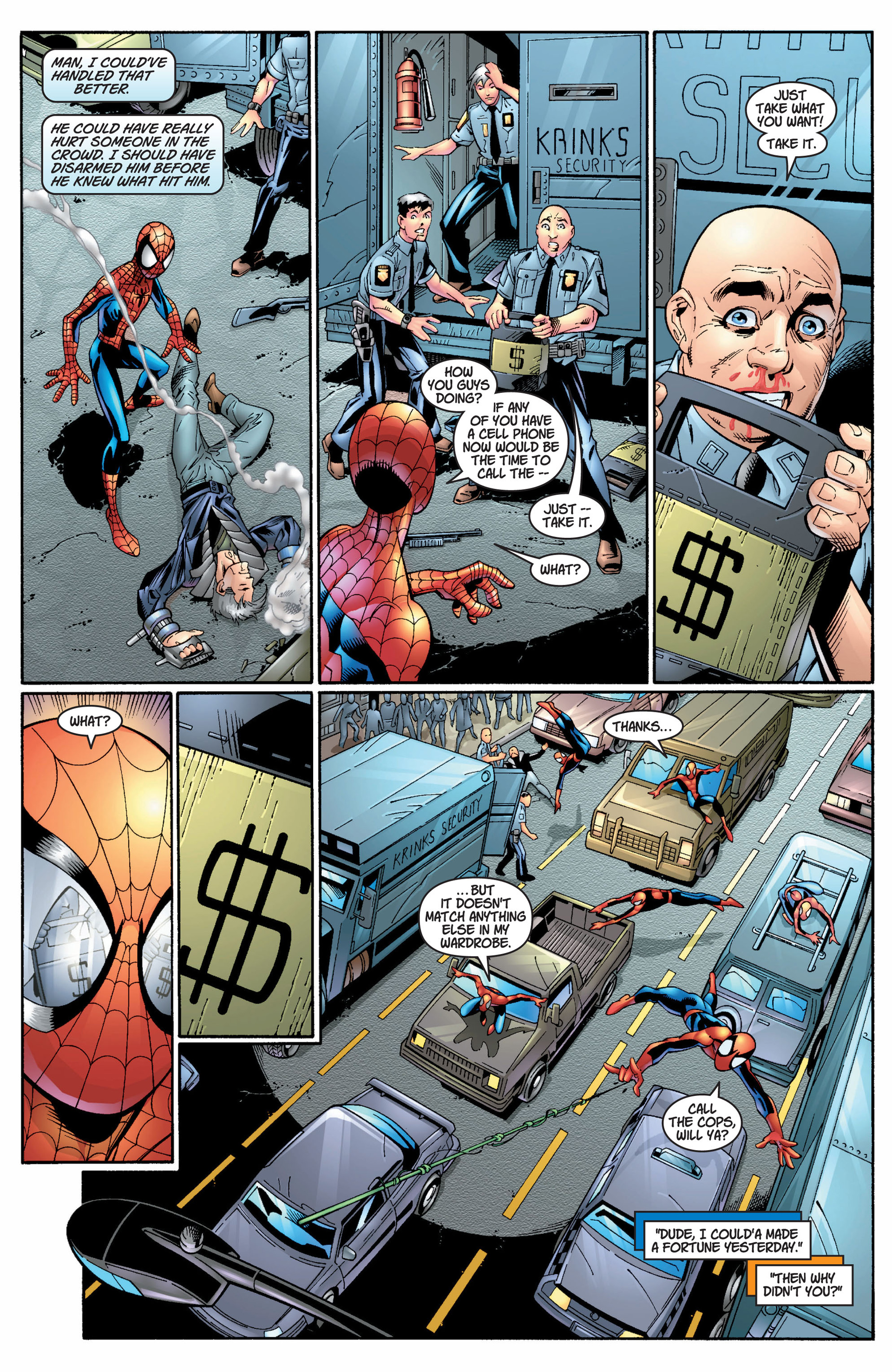 Read online Ultimate Spider-Man (2000) comic -  Issue #8 - 6