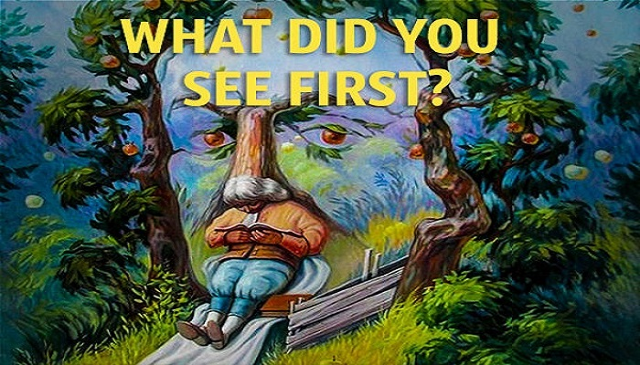 What Did You See First?