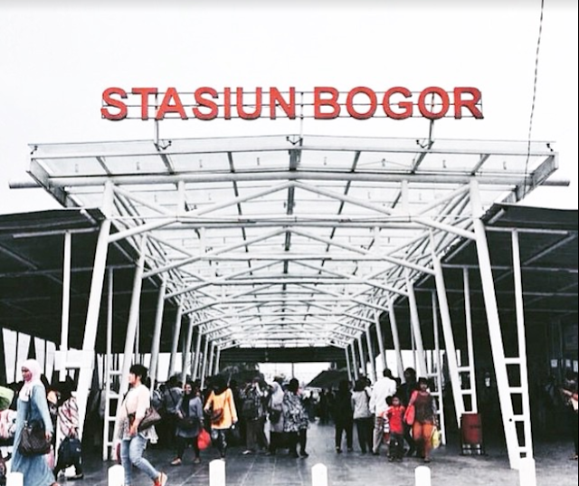 Cara pesan dan Naik Gojek - Grab di Stasiun Bogor yang Aman