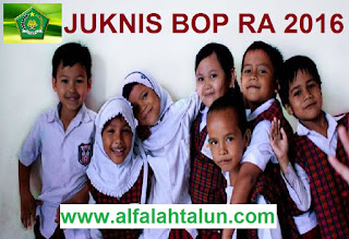 Juknis BOP untuk RA Tahun 2016