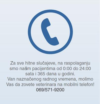 Telefon za hitna stanja 069/571-9200