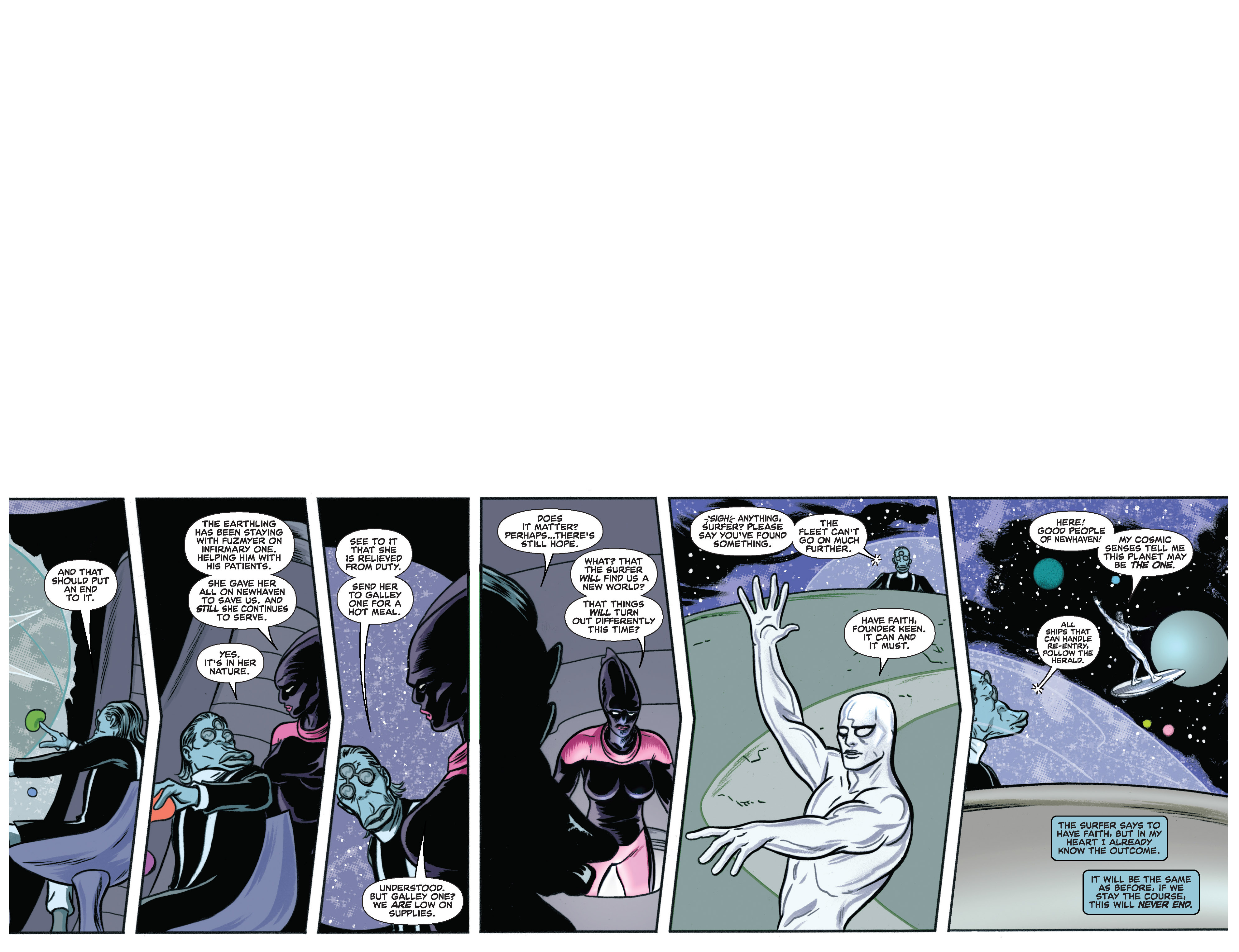 Read online Silver Surfer (2014) comic -  Issue #11 - 38