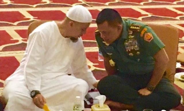Subhanallah.. Ustaz Arifin Ilham Ungkap Hobi Panglima TNI yang Kerap Jaga Wudhu