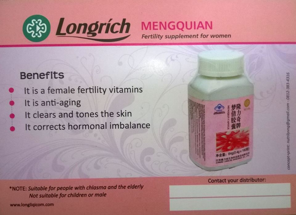Image result for longrich mengqian