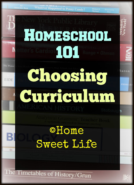 Choosing Curriculum, homeschool curriculum, Homeschool 101
