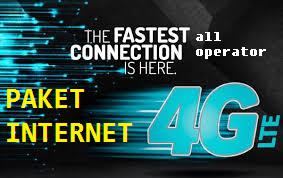 Paket Internet 4G LTE All Operator April 2017