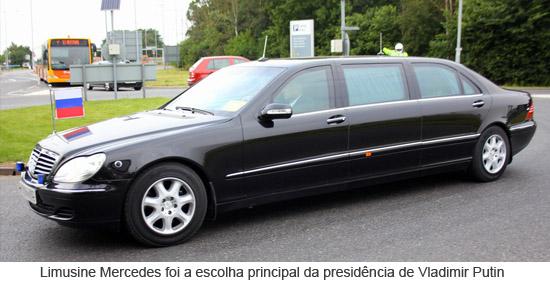Limusine Mercedes de Vladimir Putin