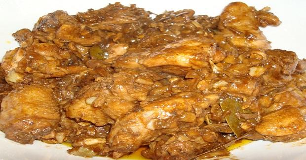 Adobong Manok Sa Atsuete (Chicken Adobo In Annatto) Recipe
