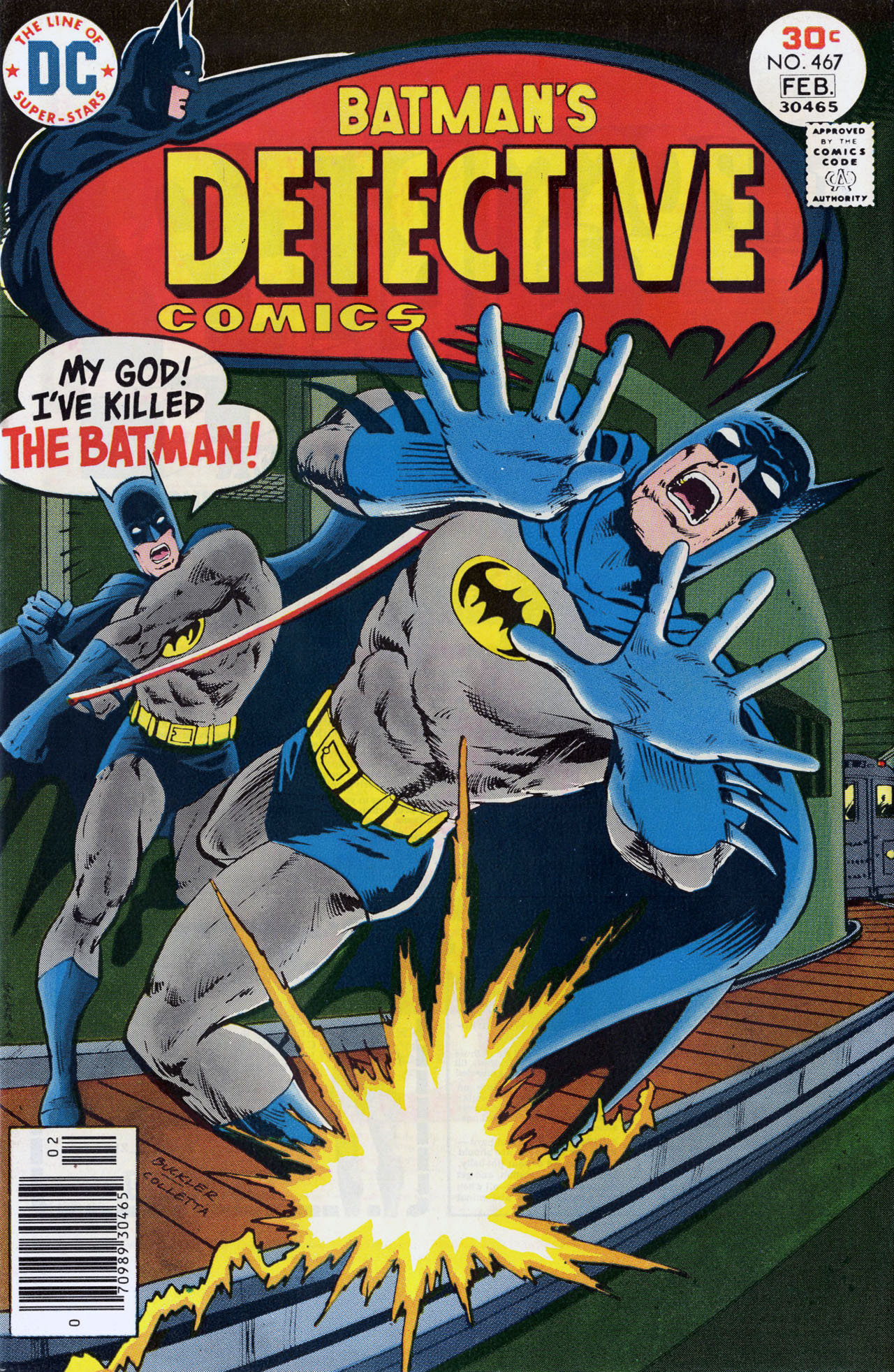 Detective Comics (1937) 467 Page 0