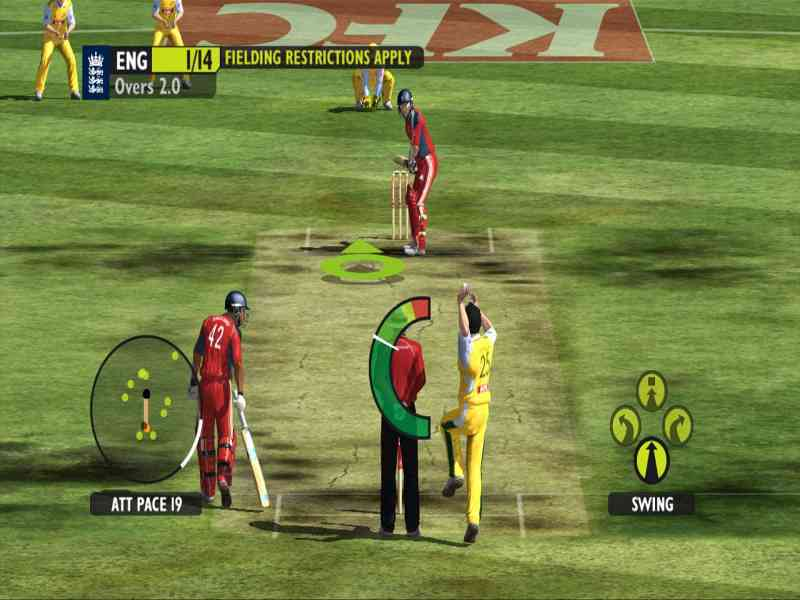 cricket 2009 ea games free