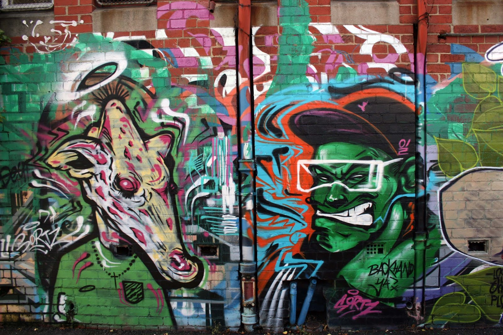 Street Art Melbourne 2017 G Lost The Plot Knock Hancock Putos Shawn Lu Ruskidd Dscreet Sugar Makatron Sicer Shida Senekt Cam Scale Dvate Itch 23rd Key Lush Sortz Gus Wael Graffitis