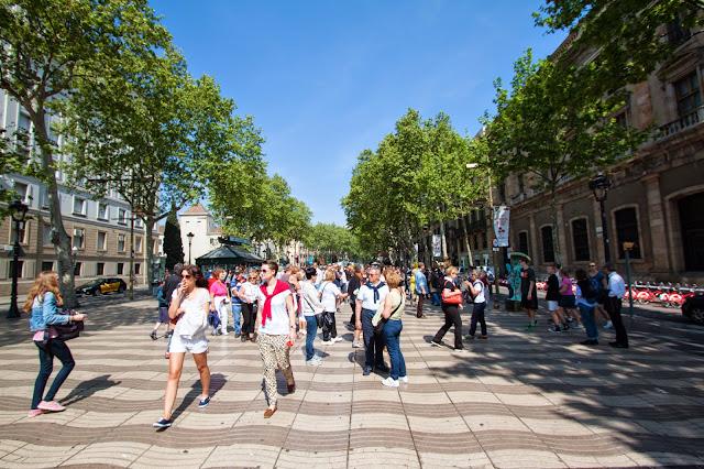 Rambla-Barcellona
