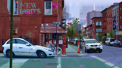 New York City Animation Art SpiderMan Into the SpiderVerse