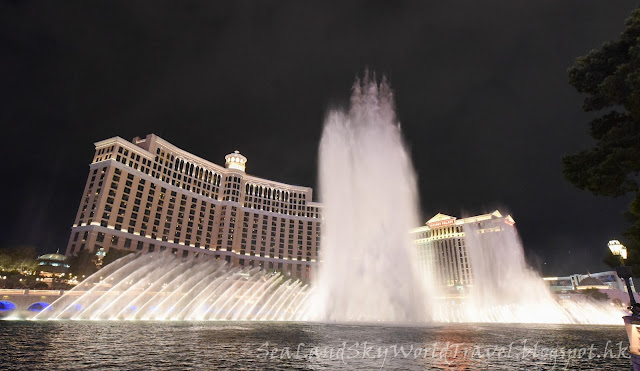 Las Vegas Bellagio Fountain 噴泉