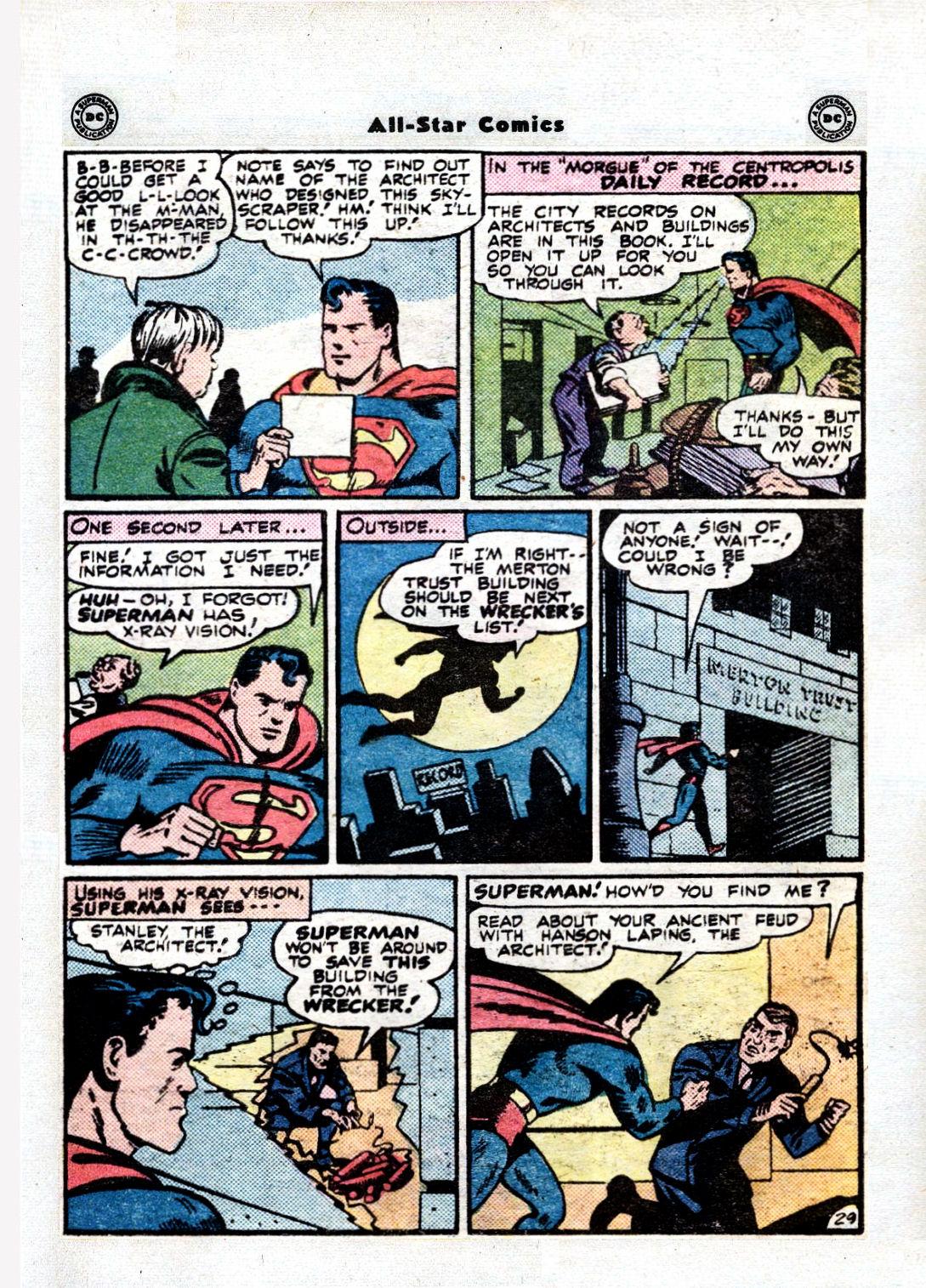 Read online All-Star Comics comic -  Issue #36 - 34