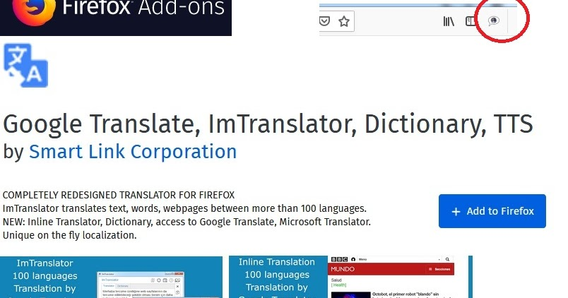 Google Translate, ImTranslator, Dictionary, TTS : Translates