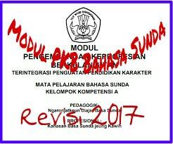 Download Modul PKB Guru Bahasa Sunda SMP  Revisi Terbaru 2017