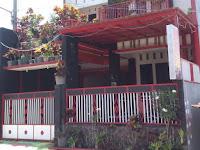 Villa Bunga Kota Batu Kamaran Dengan Kolam Renang