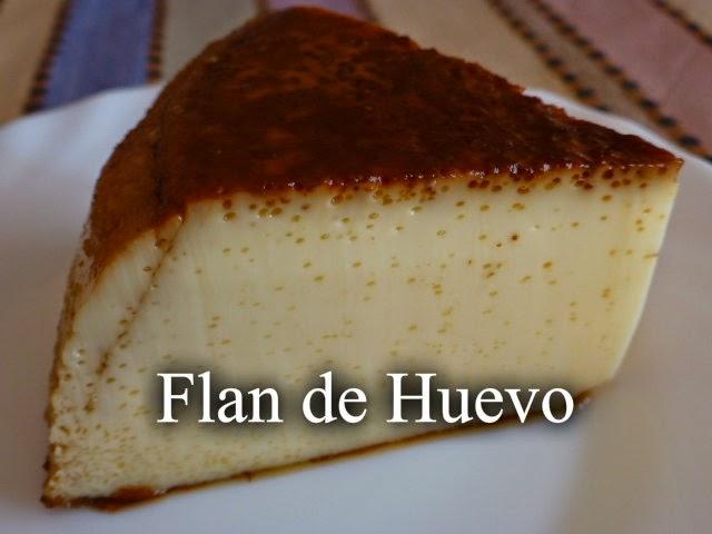 Recetas f ciles de josean mg flan de huevo receta de la abuela Horno de la abuela