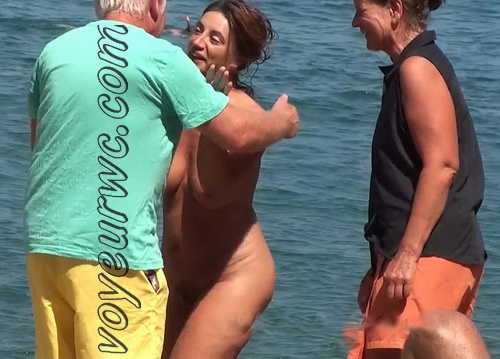 Nude Euro Beaches 34 (Spying on beautiful chicks and milfs at the beach)