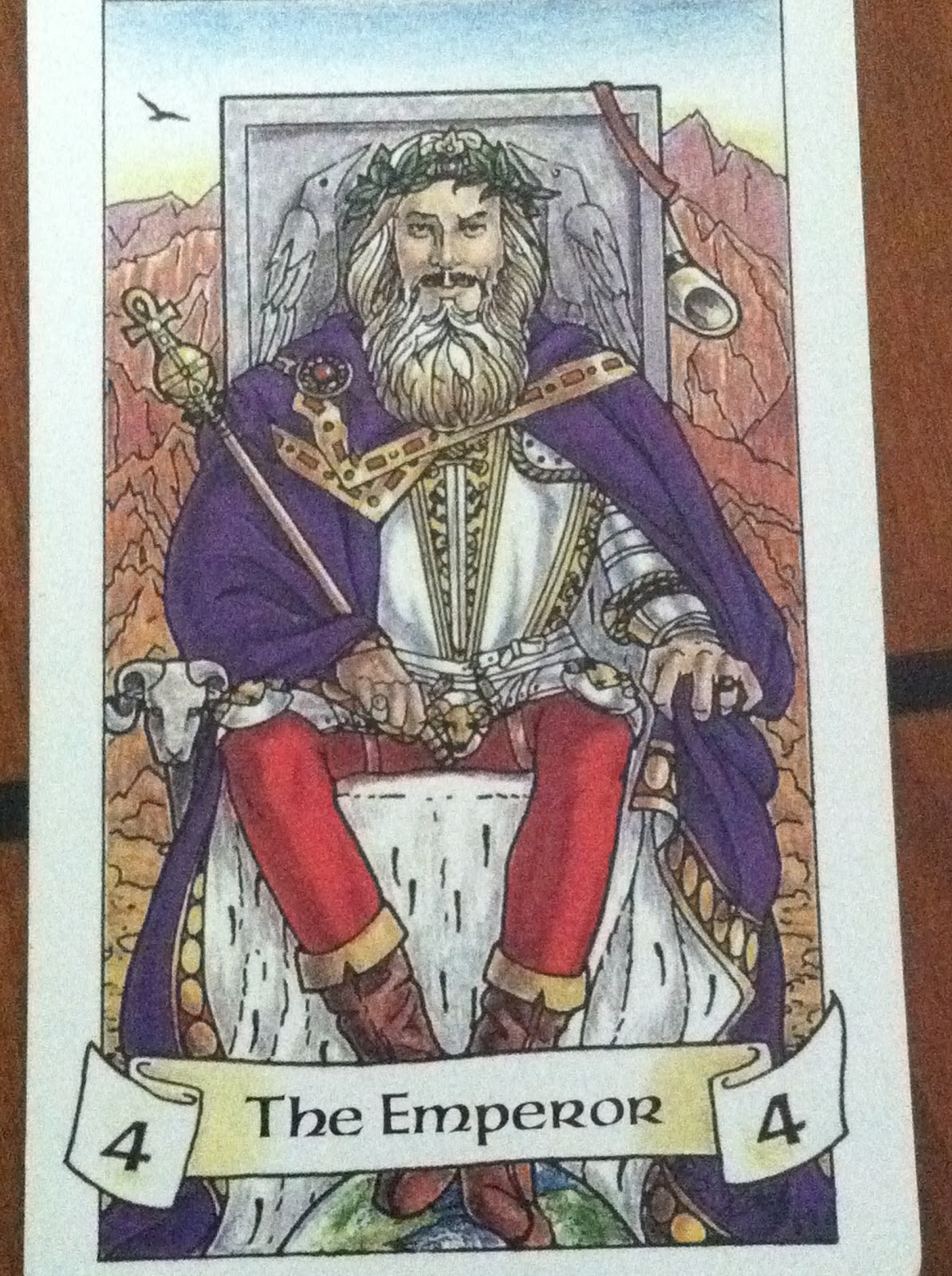 The Emperor Seven Tarot Cards From Different Packs Other: Turtlephoenix Tarot, Dreams, And Astrology: The Emperor