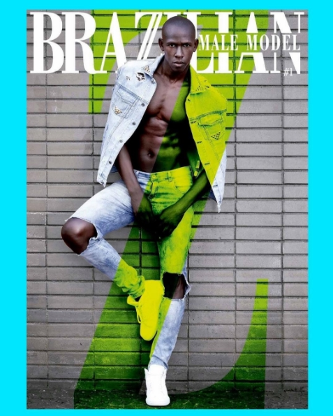 Cover |  Vinicius Mendez by Matheus Muraca for Brazilian Male Model Magazine