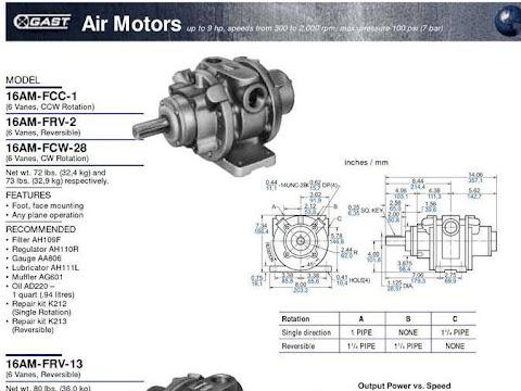 Gast Air Motor 16 AM