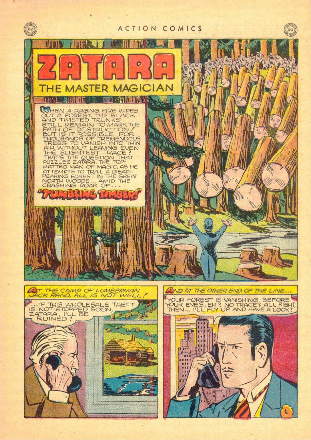 Read online Action Comics (1938) comic -  Issue #80 - 41