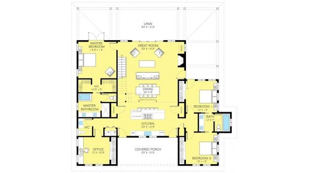 แบบบ้าน 2 ชั้น คันทรี่-โมเดิร์น