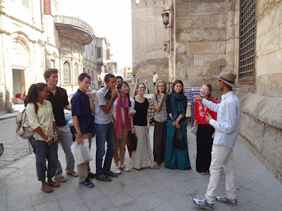 Tour Guide with Tourists 1