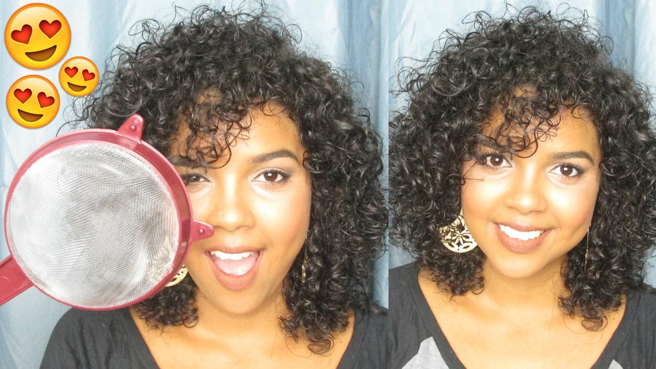 Natália Sena, dar volume aos cachos, dar volume ao cabelo 3A, volume cabelo 3A, secar cabelo com peneira
