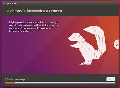 Le damos la bienvenida a Ubuntu