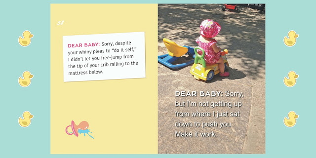 Dear Baby I'm sorry - Humor Parenting