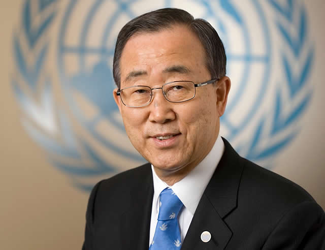Ban Ki-moon bids farewell to UN
